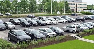 Central beliggenhed og masser af GRATIS parkeringspladser